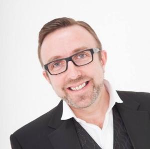 Steve Laister - minus the comedy parrot...