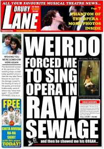 Phantom of the Opera - The Real News Headlines