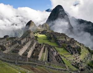 Machu Picchu - a real star trek above the clouds