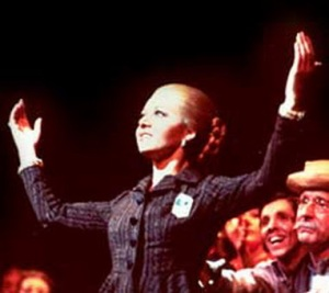 "Evita: ""Oh gosh, darling... It was the 1970s!"""