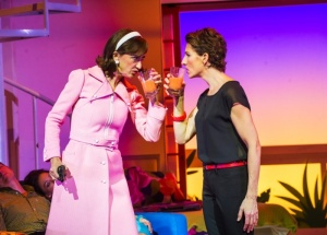 Haydn Gwynne as the deliciously bonkers Lucia
