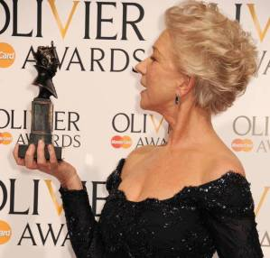 Dame Helen Mirren covets her 2014 Little Larry...