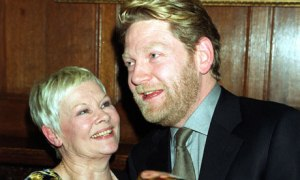 Kenneth Branagh and Judi Dench - between them, so valuable to the UK economy that they are forbidden to fly together.