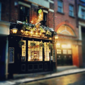 The Lemon Tree - one for a warm evening in the West End