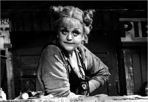 Angela Lansbury as Mrs Lovett - The Worst Pies in London