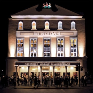 Look to the right of the Old Vic's beautiful fraontage for the fab Pit Bar