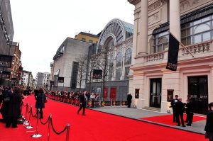 The stunning Royal Opera House: Red Carpet awaits the most famous feet in Theatreland. [Image: Sarah Jeynes]