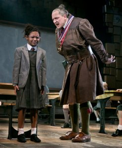 "Miss Trunchbull - headmistress of a school Ofsted might rate as in ""Special Measures"""