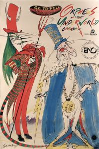 Gerald Scarfe's contribution to Satire is equalled by his contribution to Theatre