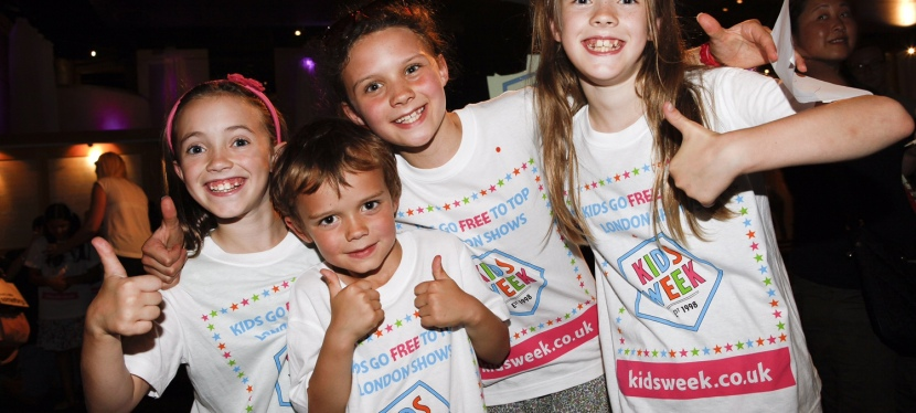 Kids Go Free to London Shows this summer – our Kids Week top tips!