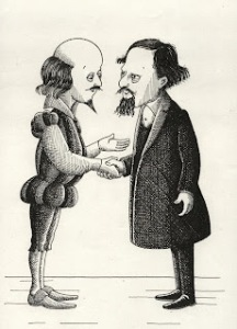 Two truly towering figures: Shakespeare and Dickens dominate London's literary past, present and future.