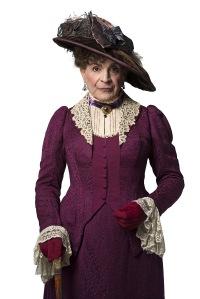 Lady Bracknell - a velociraptor in a velvet bustle