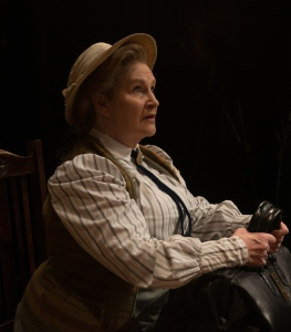 The wonderful Michelle Dotrice as Miss Prism