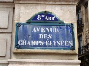 Pardon Monsieur...ou est les Champs-Elysees?