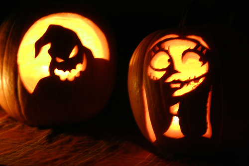 How to theatre up your pumpkin terrify small children with the oogie boogie man pronofoot35fo Images