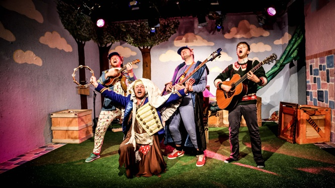 Cinderella and the Beanstalk:Theatre503