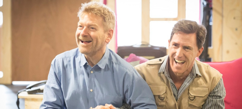 Kenneth Branagh in The Painkiller – Photos from the rehearsal room