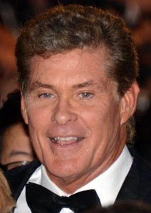 The Hoff's slo-mo running days are definitely behind him!