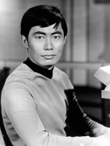 Mr Sulu - always Takei, never tacky...