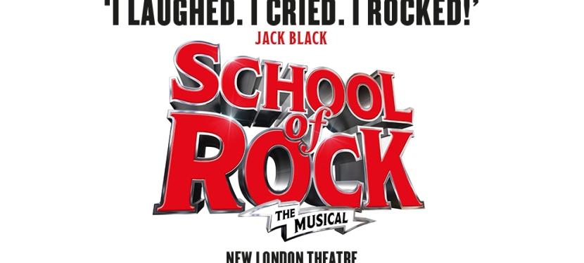 School of Rock flies in to the WestEnd