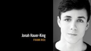 Rising star Jonah Hauer-King