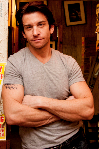 Andy Karl Backstage Magazine Cover by Nina Robinson