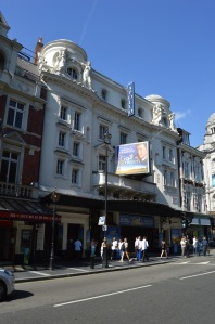 Apollo Theatre, Shaftesbury Theatre