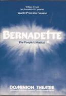 Bernadette Musical Poster