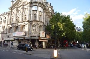 Novello Theatre Frontage