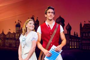 Glinda and Fiyero: Image courtesy of wickedthemusical.co.uk