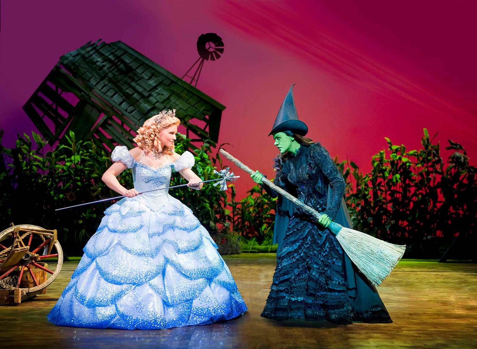 Image courtesy of wickedthemusical.co.uk Glinda and Elphaba ... & Wicked: An A to OZ Guide to the Emerald City
