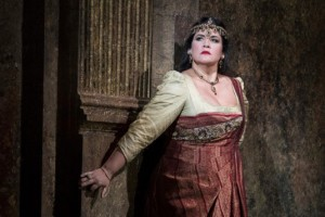 Keri Alkema as TOSCA [Photo: Richard Hubert Smith]