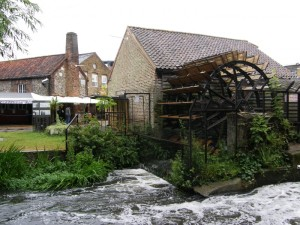 Merton Abbey Mills: The River Wandle - flowing water is said to increase psychic energy