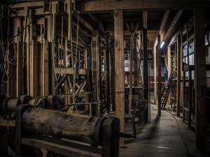 Antique backstage workings (c)Tyne Theatre & Opera House.