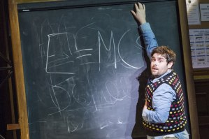 Dewey at the Blackboard