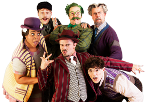 The cast is sensational, and work their socks off (c) www.windinthewillowsthemusical.com