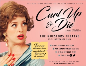 Curl Up and Die at the Questors Theatre