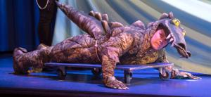 Who's afraid of the big bad...er...terrifying...crocodile?