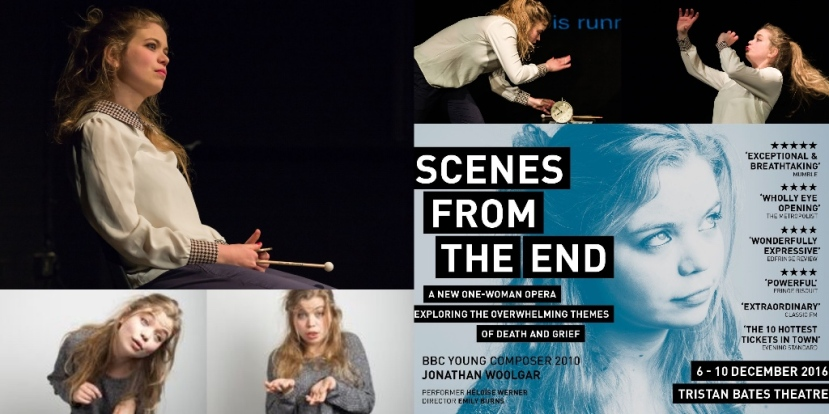 Scenes From the End: Tristan Bates Theatre from 6-10 December