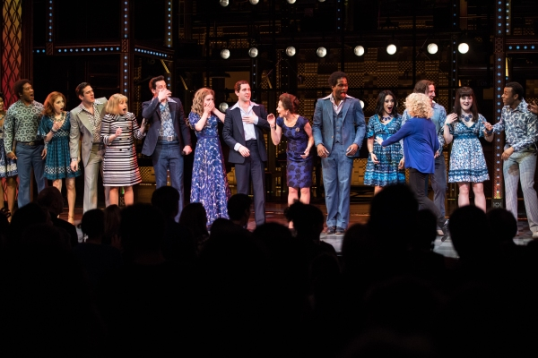 1. Carole King surprises West End cast, 6 March 2017, photo Craig Sugden