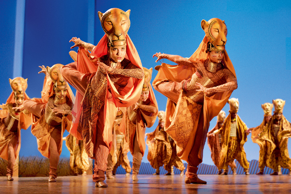 Disney's 'The Lion King' is one of London's most popular shows