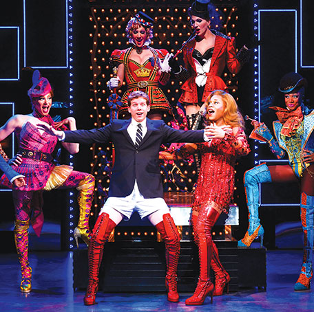 Scene from the Broadway production of 'Kinky Boots'