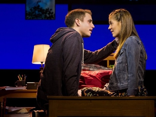 Production still from 'Dear Evan Hansen'