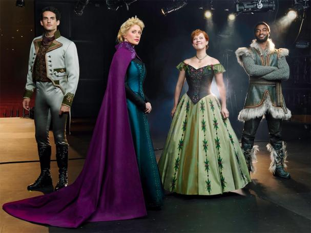 Photo of the 'Frozen' Broadway cast