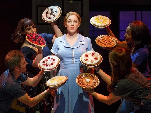 Production still from Waitress