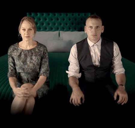 Niamh Cusack and Christopher Eccleston