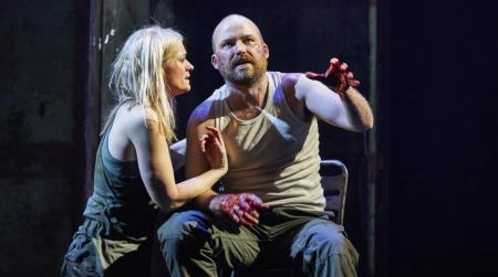 Production still from Macbeth at the National Theatre