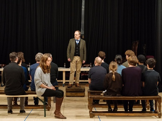 Rehearsal shot for Fanny & Alexander