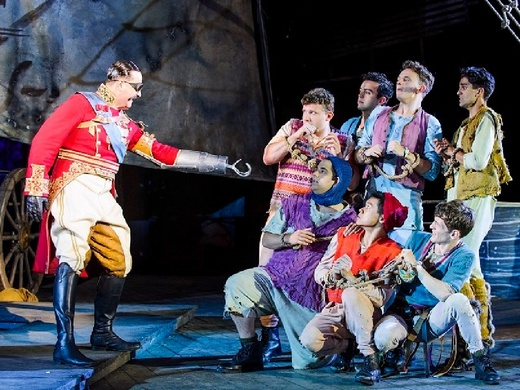Production still from Peter Pan at Regent's Park