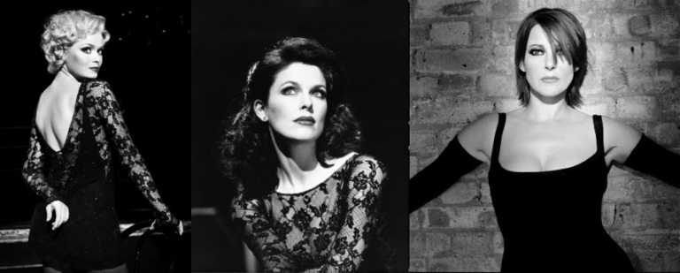 Sarah Soetaert, Josefina Gabrielle, and Ruthie Henshall in Chicago